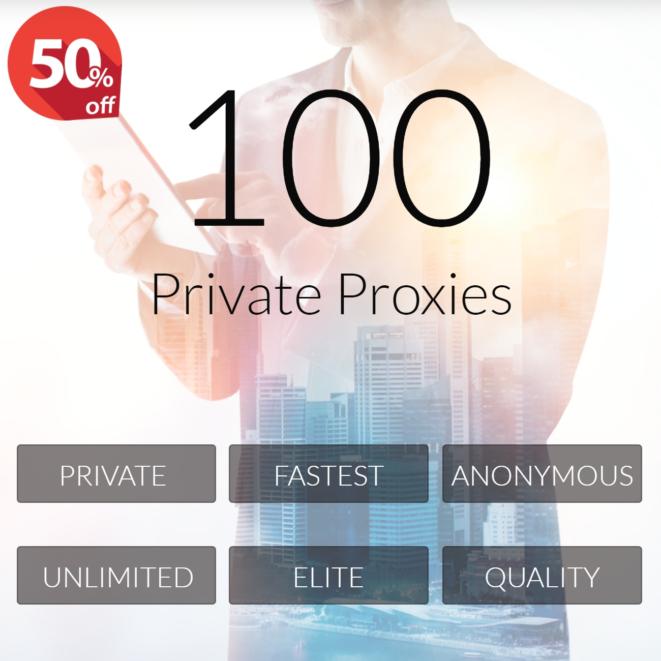 100 Private Proxies