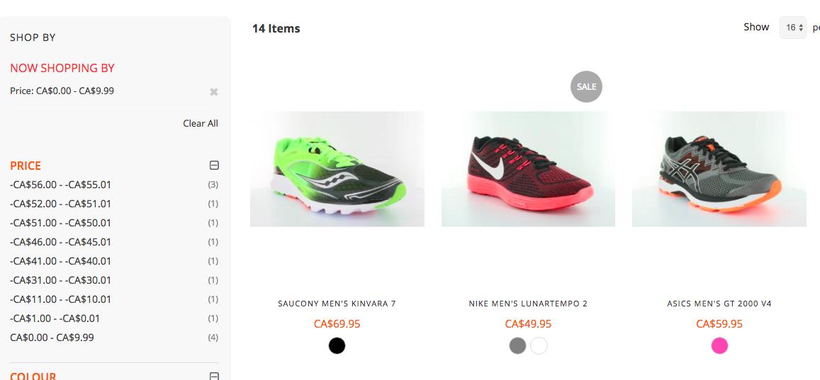 inaccurate price range